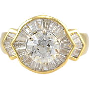2.36 CTW Diamond 18KY Gold Ring