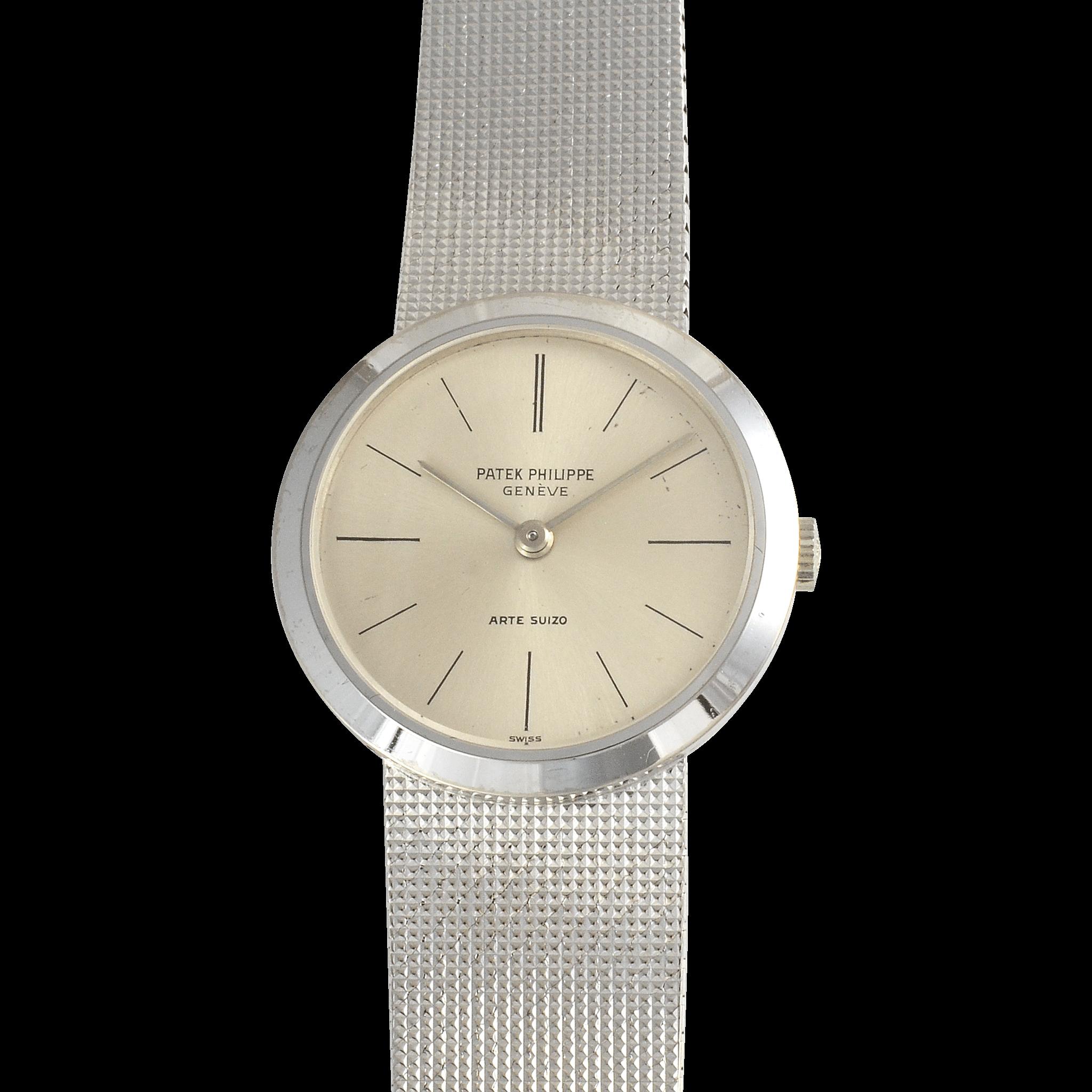 Swiss Ladies 18K Gold Calatrava Wrist Watch by Patek Philippe