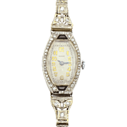 Swiss Platinum Ladies Ebel Wrist Watch