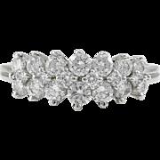 .90 Carat Total Weight Diamond Ring