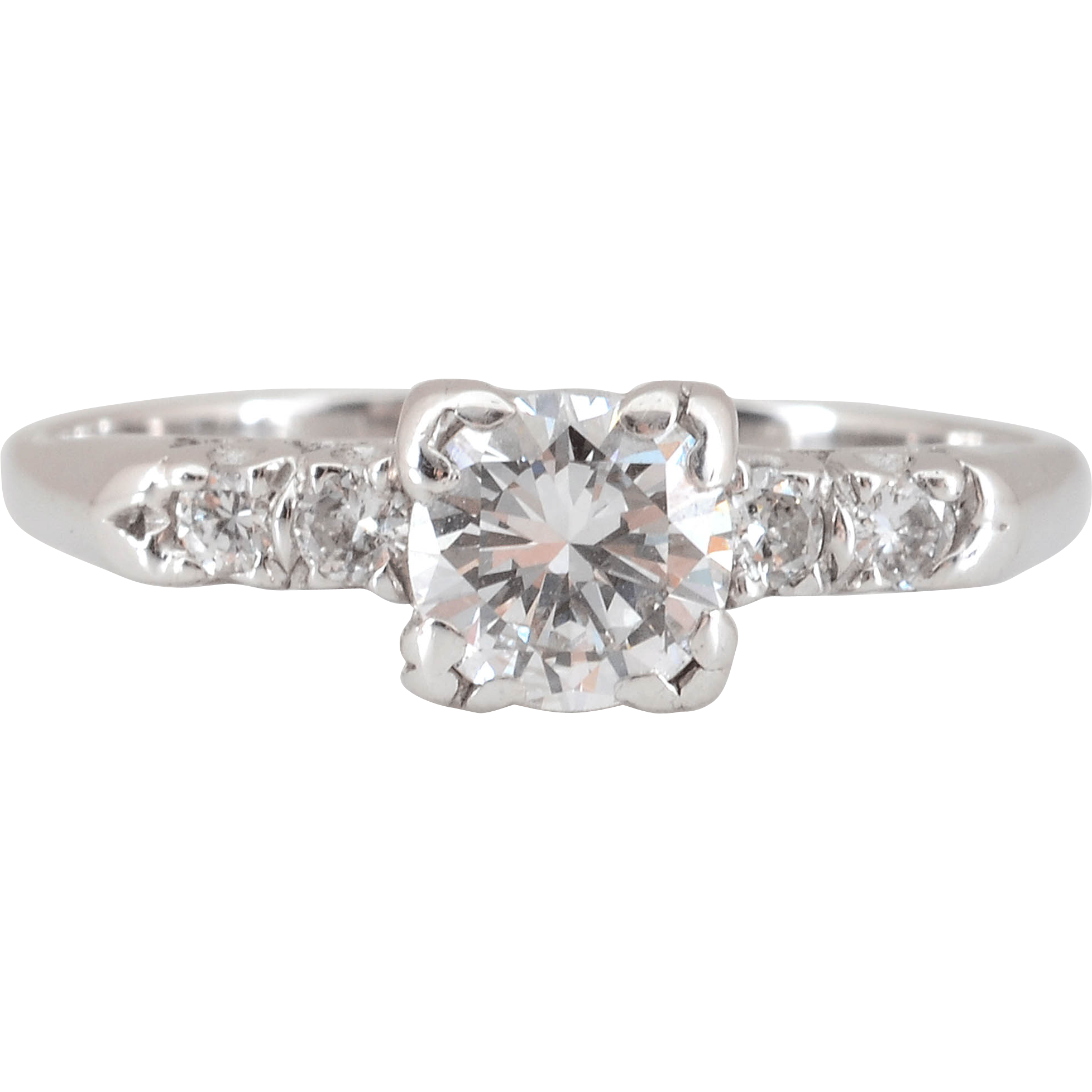 0.75 Carat Center Diamond Ring