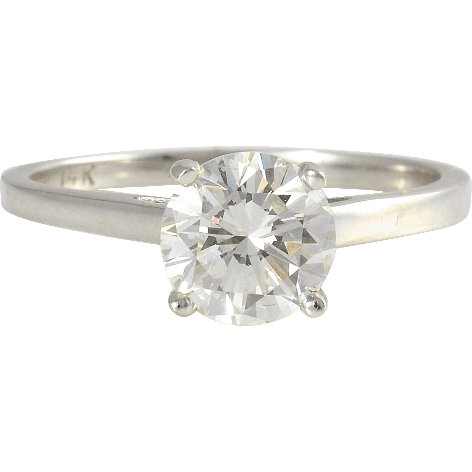 1.19 Carat Diamond Solitaire Engagement Ring