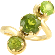 4.28 CTW Peridot Ring