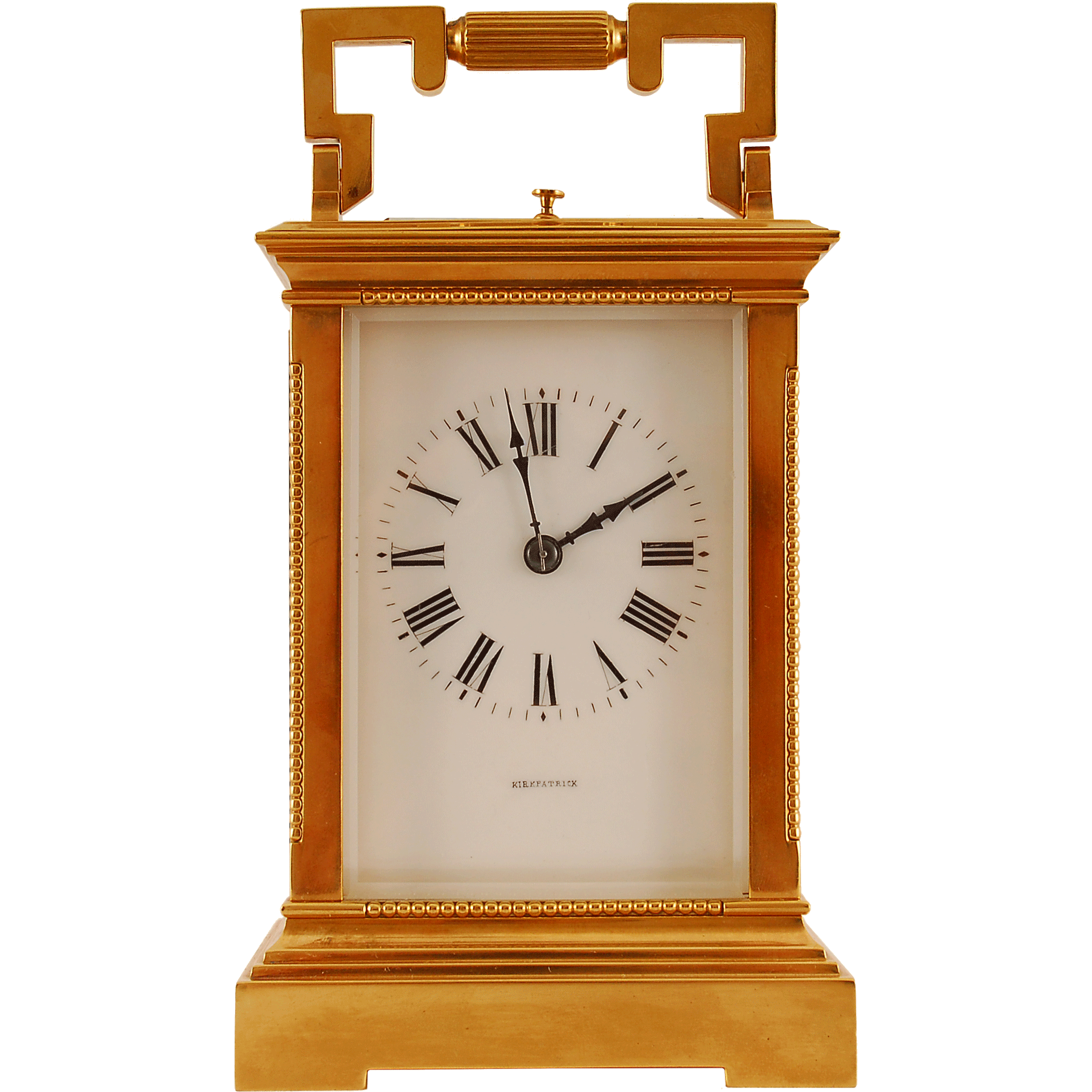French Anglaise Case Petite Sonnerie Carriage Clock