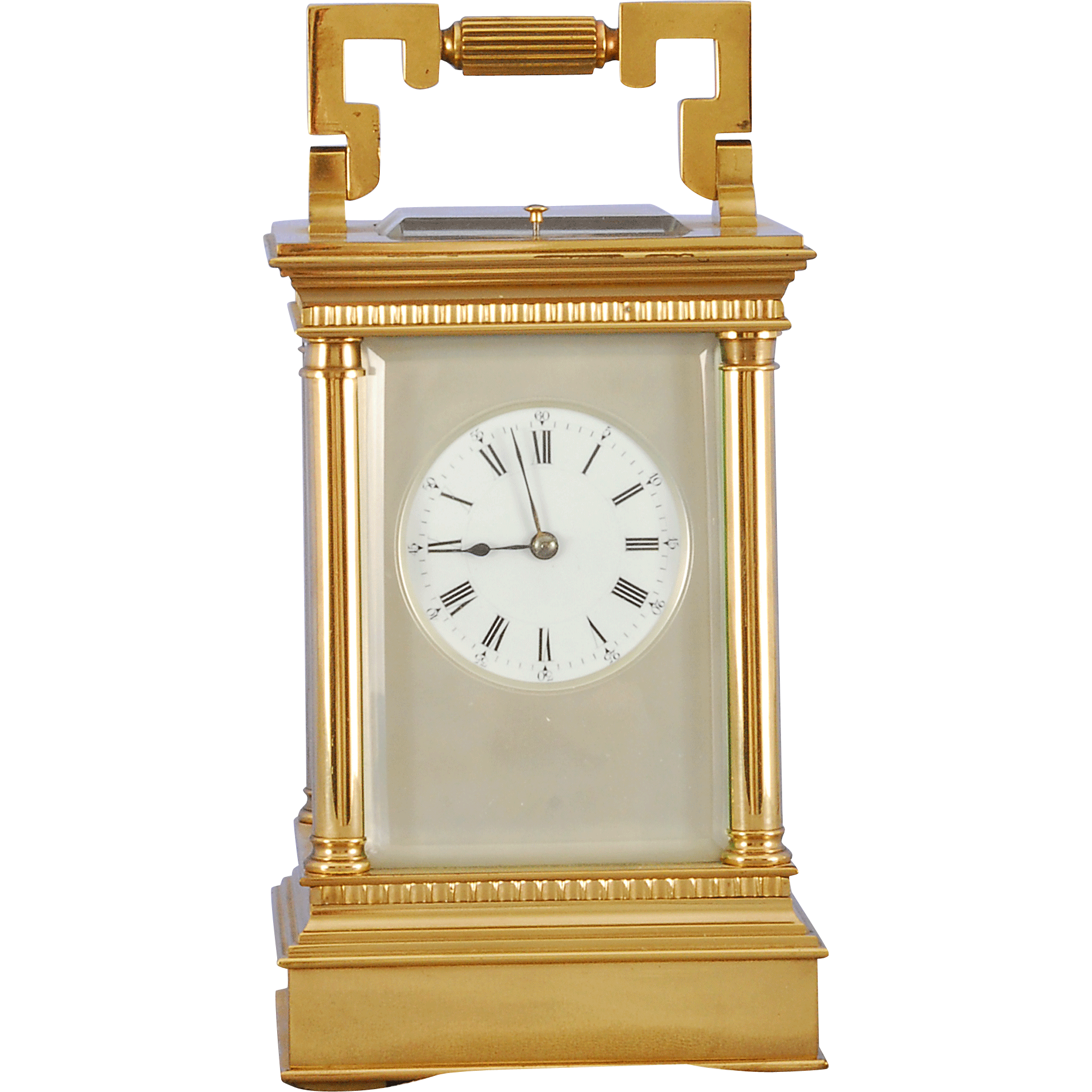 French Quarter Hour Petite Sonnerie Carriage Clock