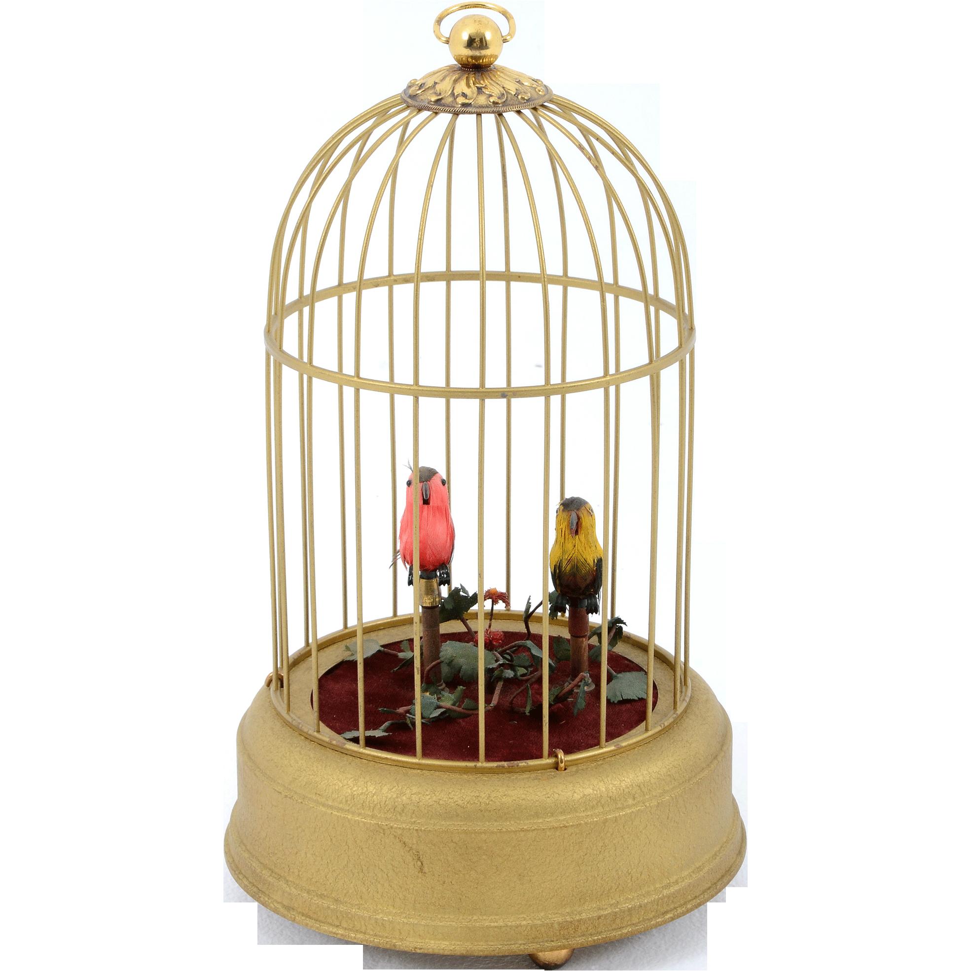 Swiss Double Singing Bird Automaton