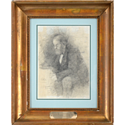 Pencil Drawing of Lord Fred Powell by Jack Butler Yeats