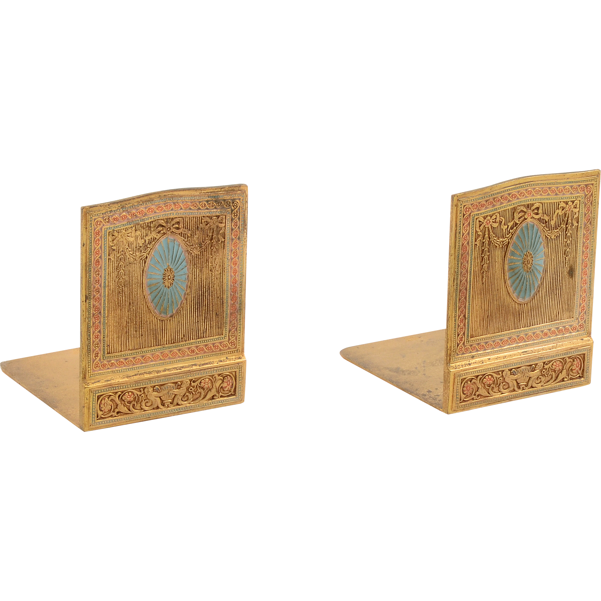 American Pair of Bookends by Tiffany Studios LCT