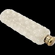 Tiffany & Co Cut Crystal Perfume Bottle