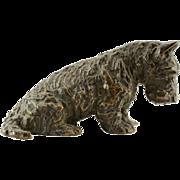 Marguerite Kirmse Bronze Sculpture of Scottish Terrier