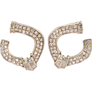 Platinum 2.35 CTW Diamond Fashion Earrings