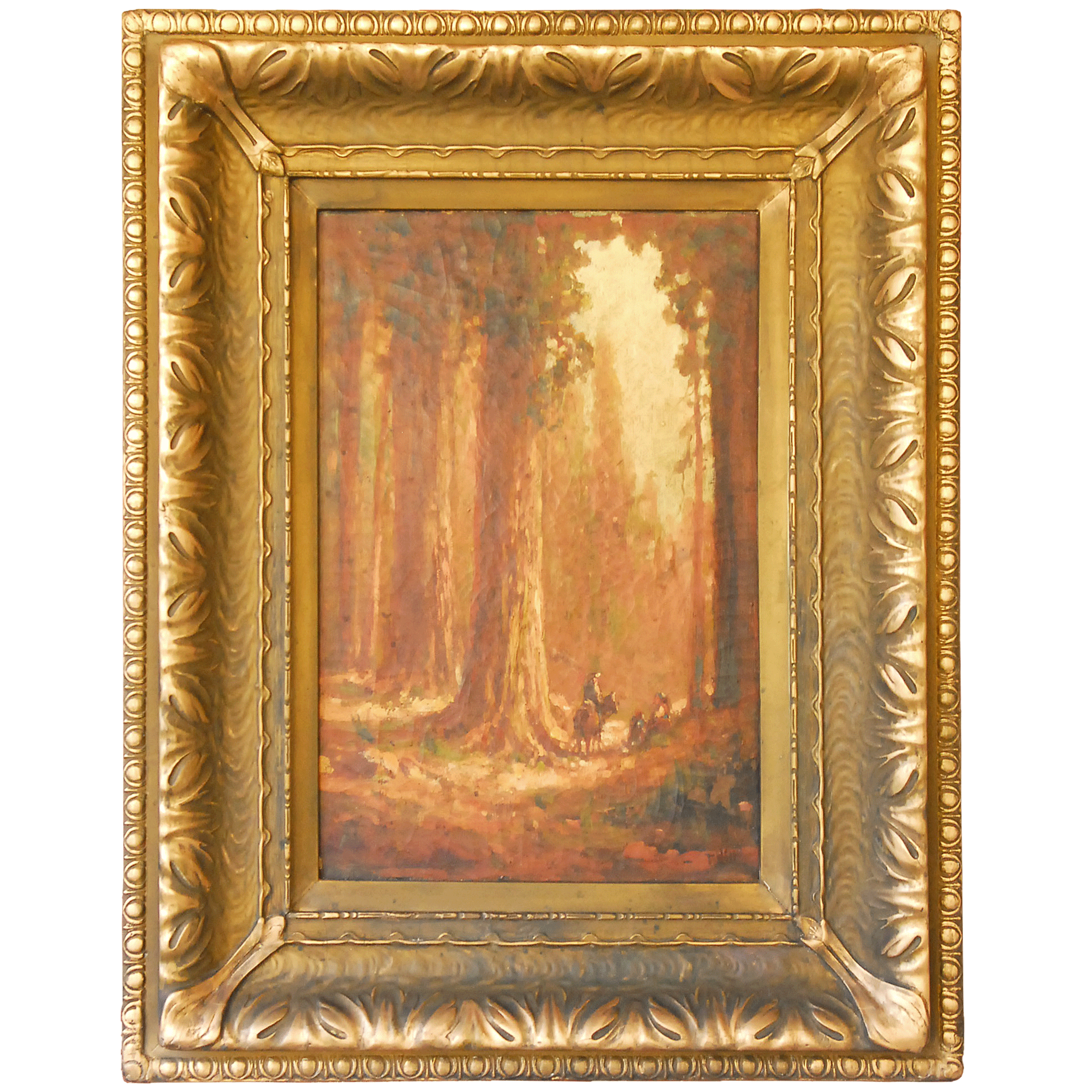 California Redwoods by Thomas Hill Oil on Canvas