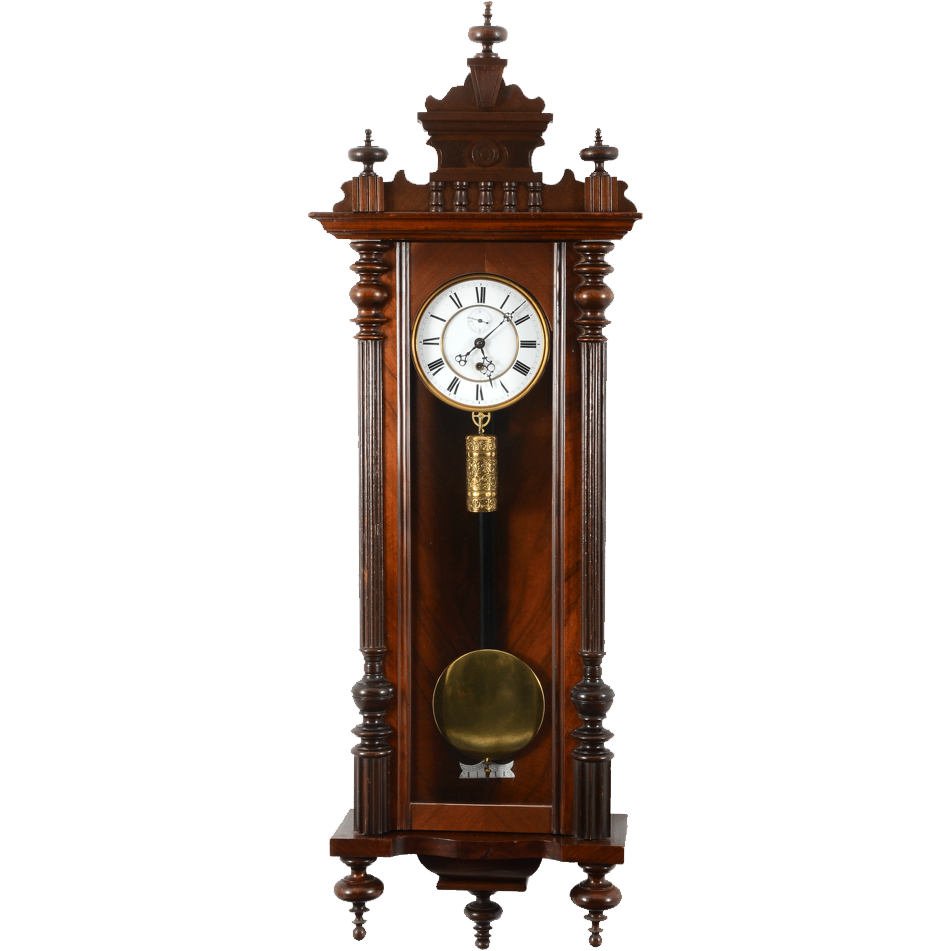 German Walnut Vienna Regulator
