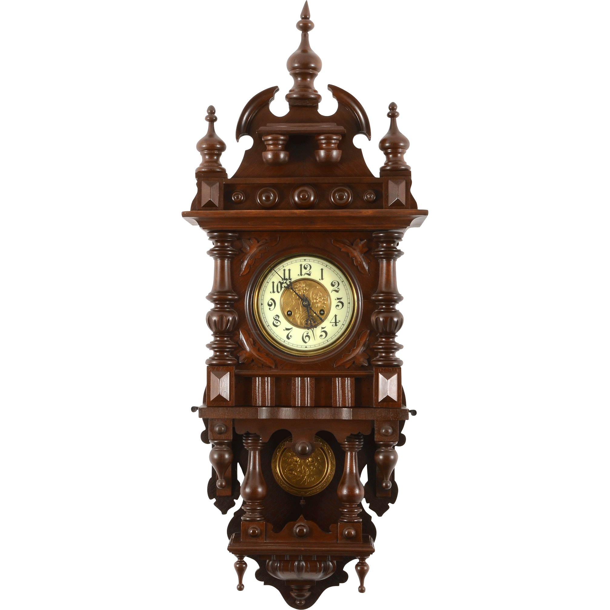 German Victorian Wall Clock