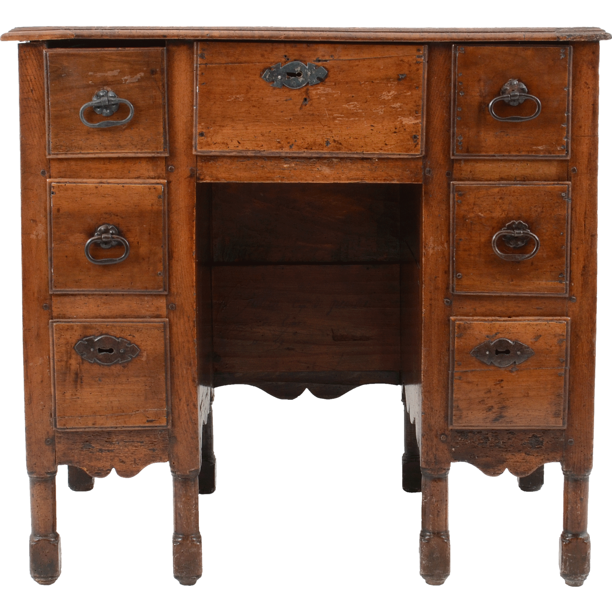 French Provincial Walnut Writing Desk