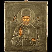 Russian Silver Icon