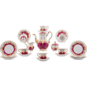 German Porcelain Tea Service by Meissen - Red Tag Sale Item