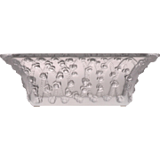 Lalique Trellised Roses Crystal Bowl