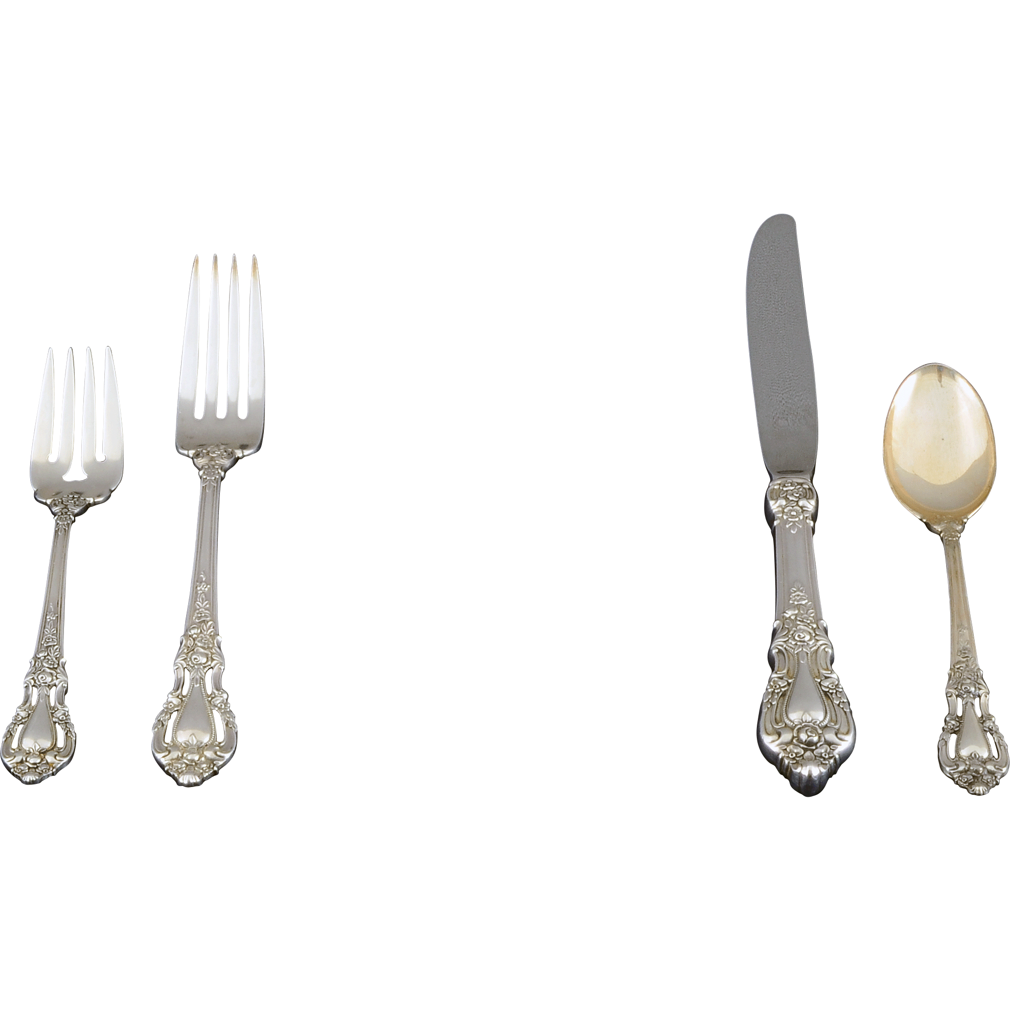 Sterling 91 piece Flatware Set Eloquence Pattern by Lunt