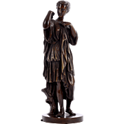 Bronze Sculpture Classical Woman