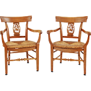 Pair of French Country Arm Chairs