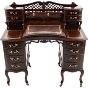 Edwardian Mahogany Writing Desk