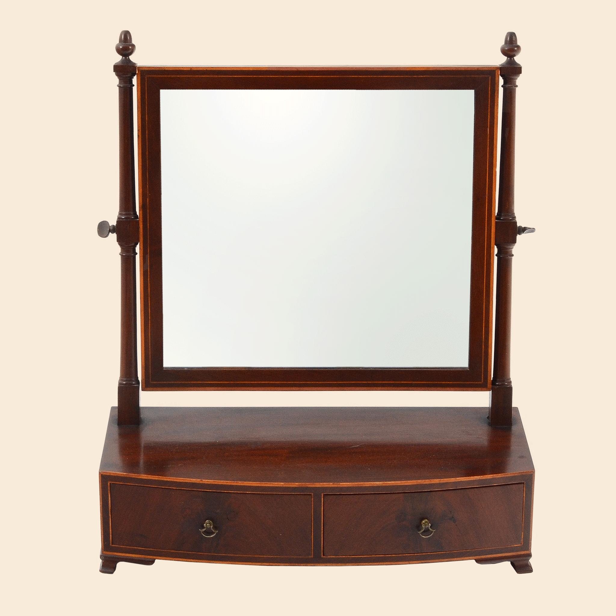 American Mahogany Dressing Mirror