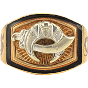 Shriners Enamel Ring