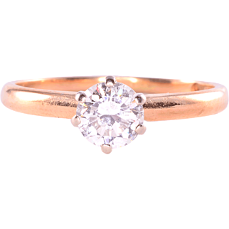 0.50 Carat Solitaire Diamond Ring