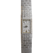 Ladies 17 Jewel Wrist Watch by Blancpain in 18 Karat White Gold