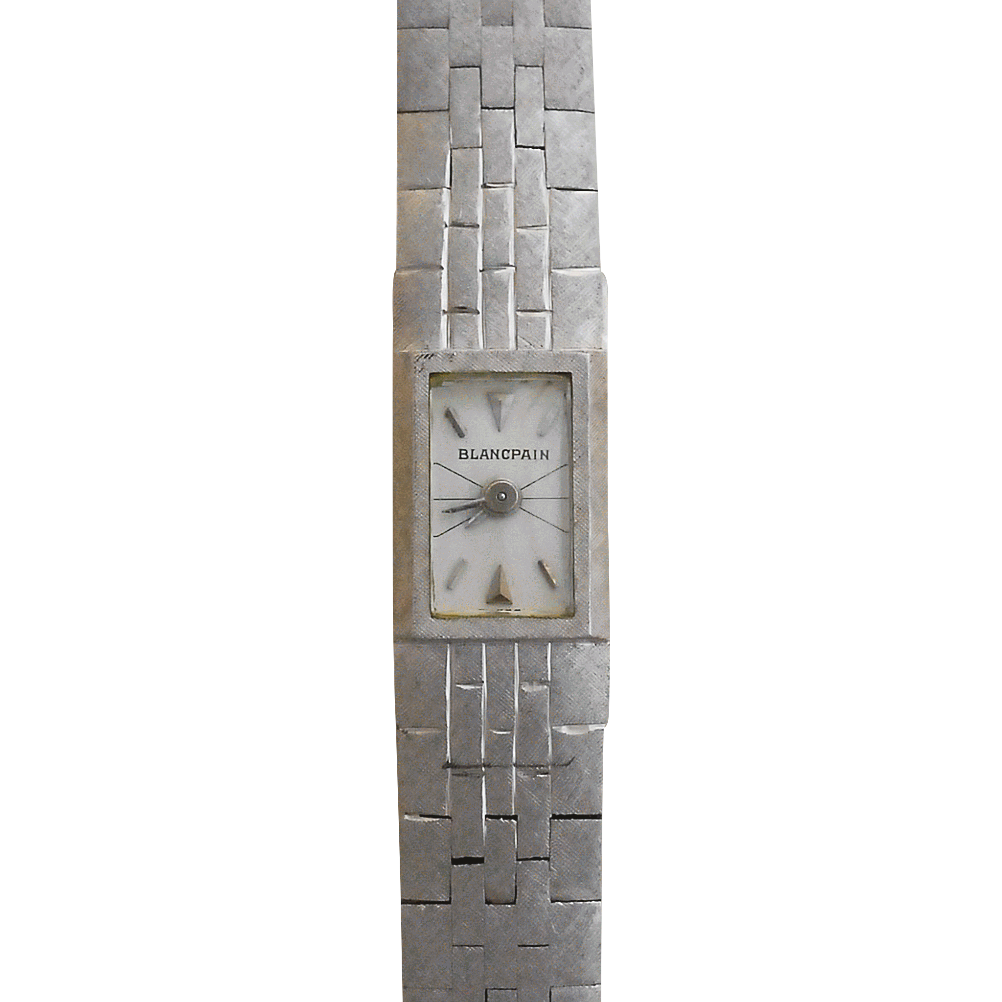 Ladies 17 Jewel Wrist Watch by Blancpain in 18 Karat White Gold