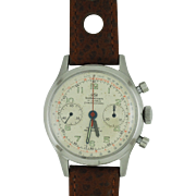 Mens Breitling Wakmann Chronograph in Stainless Steel Case