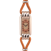 Swiss Ladies Stainless Steel Wrist Watch by Le Coultre