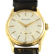 Swiss Mens Wrist Watch by Agassiz for Tiffany & Co
