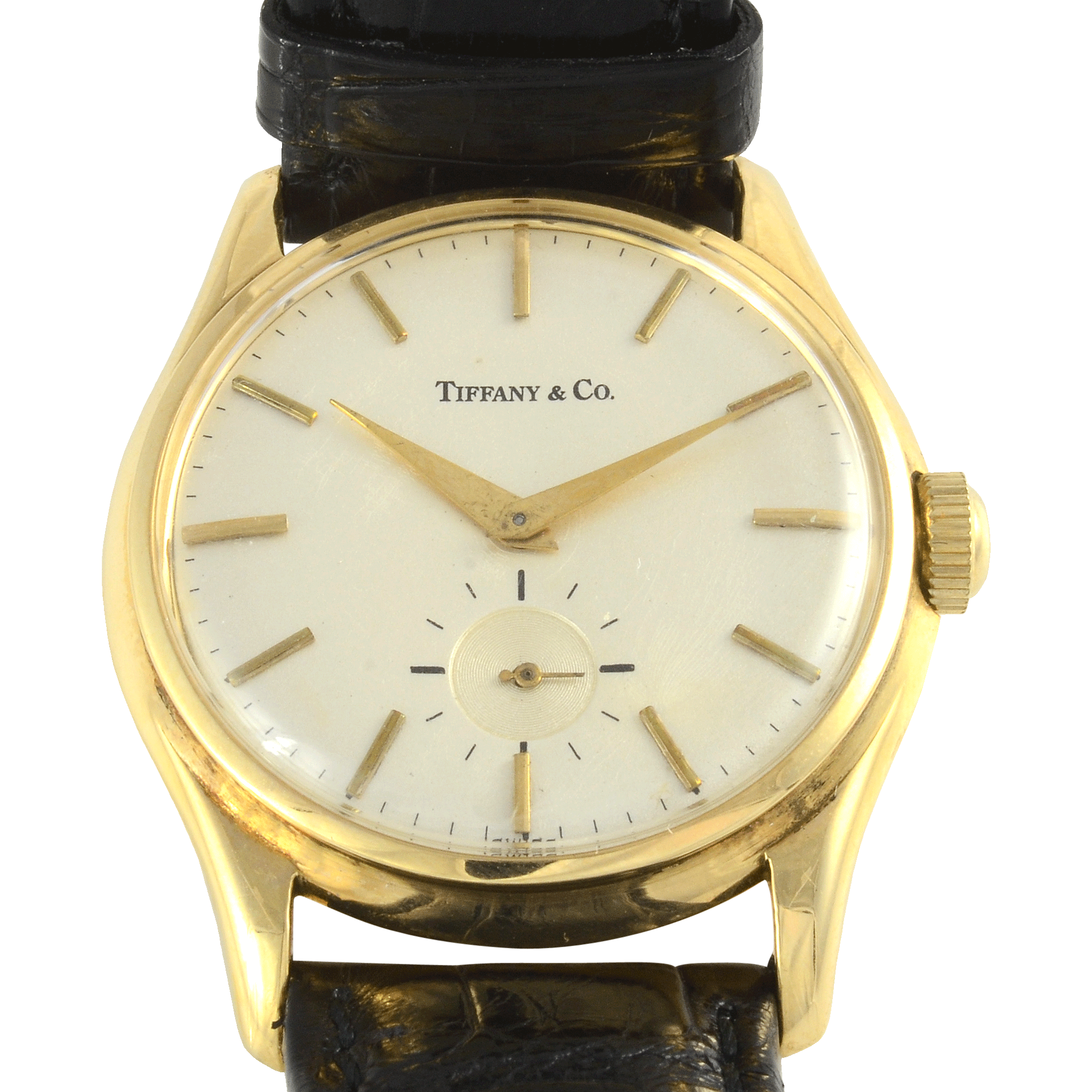 Swiss Mens Wrist Watch by Agassiz for Tiffany & Co