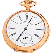 Pocket Watch with 15 Minute Repeater by Black Starr & Frost