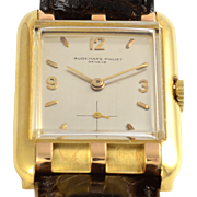 Swiss Mens 18K Yellow Gold Wrist Watch by Audemars Piguet