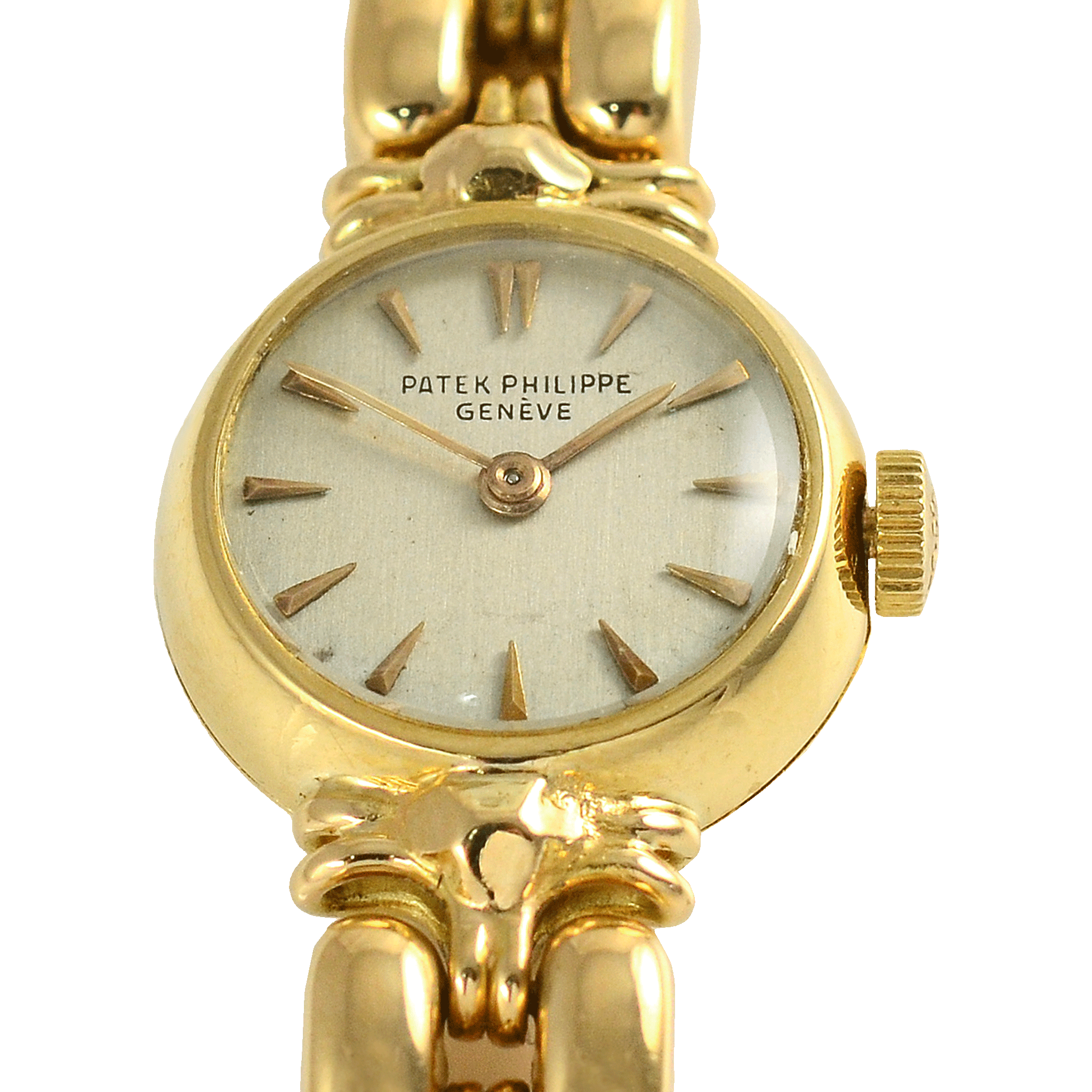 Swiss Ladies 18K Yellow Gold Wrist Watch by Patek Philippe