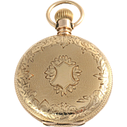 Swiss Hunter Case Pocket Watch by Shreve & Co