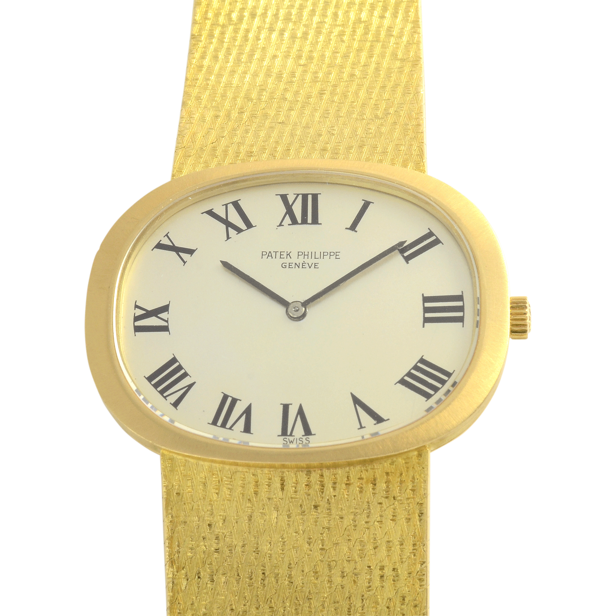 Swiss Mens Yellow Gold Wrist Watch by Patek Philippe