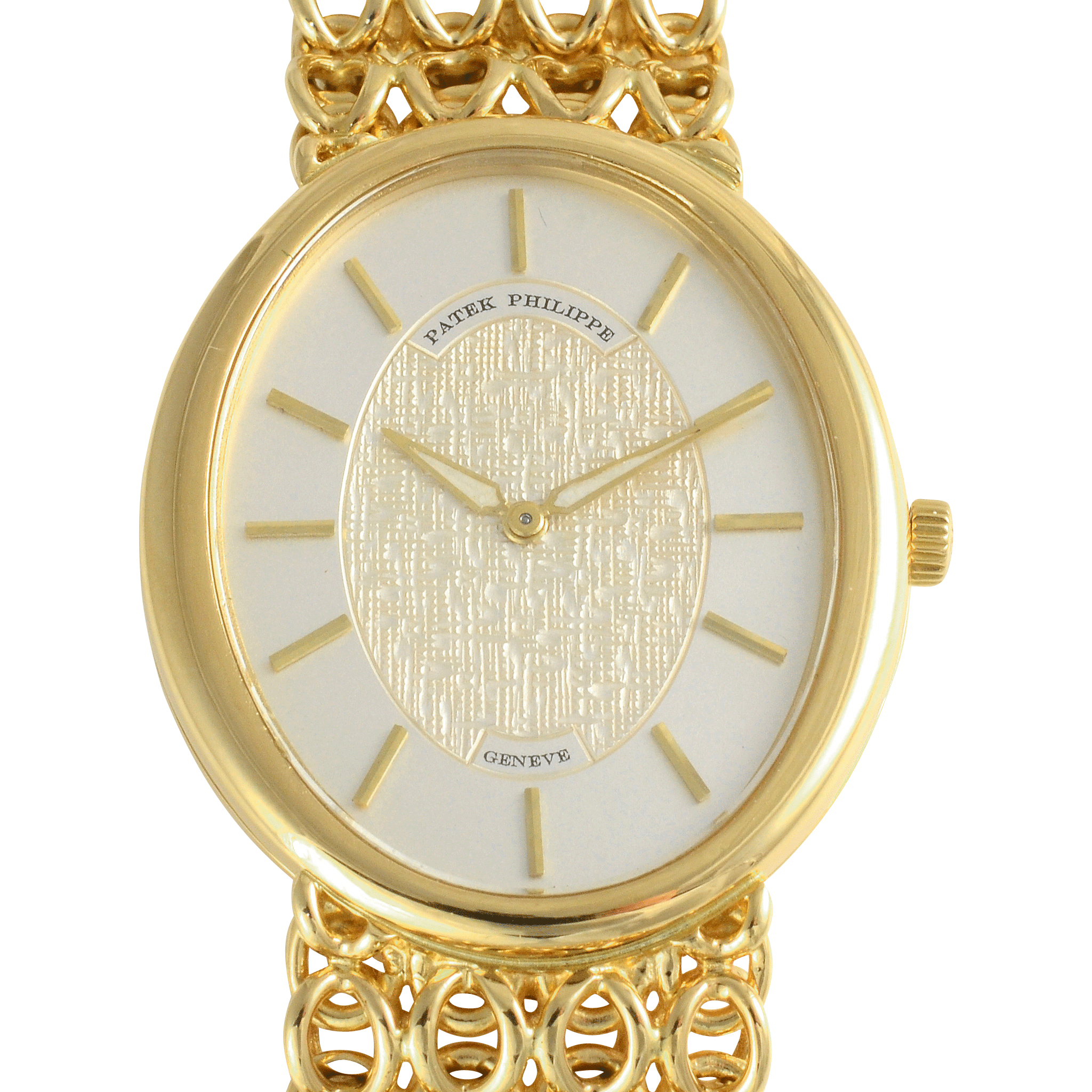 Swiss 18K Yellow Gold Wrist Watch by Patek Philippe