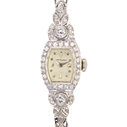 Hamilton 1.75 CTW Diamond Ladies Wrist Watch