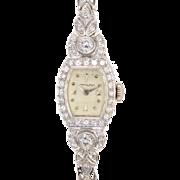 Hamilton 1.75 CTW Diamond Ladies Wrist Watch