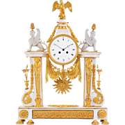 Bergmiller French Empire Mantel Clock