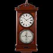 American Ithaca Calendar No. 2 Wall Clock