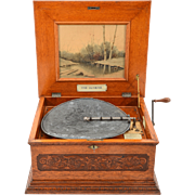 American Olympia Disc Music Box