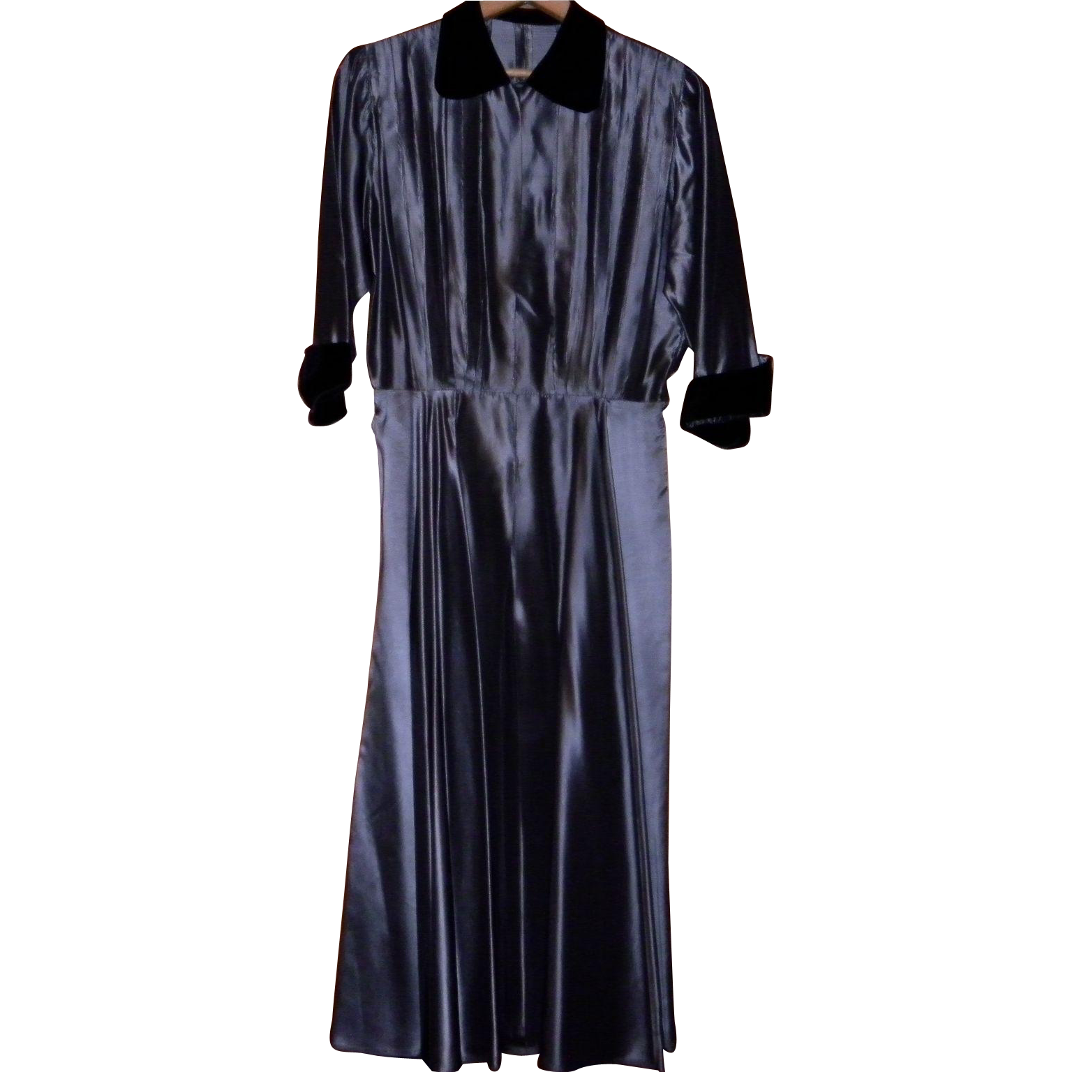 Vintage 1950's Taffeta Dress Size Small / XS