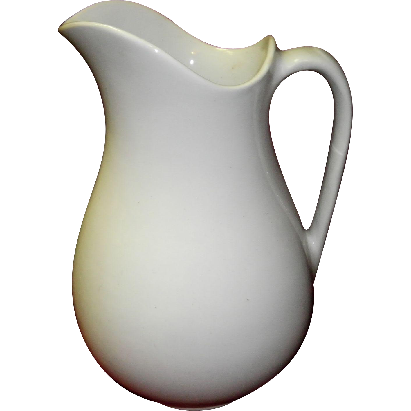 Antique Anthony Shaw Ironstone Wash Pitcher