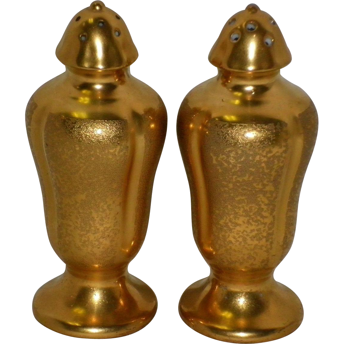 Pickard Gold Salt & Pepper Shaker