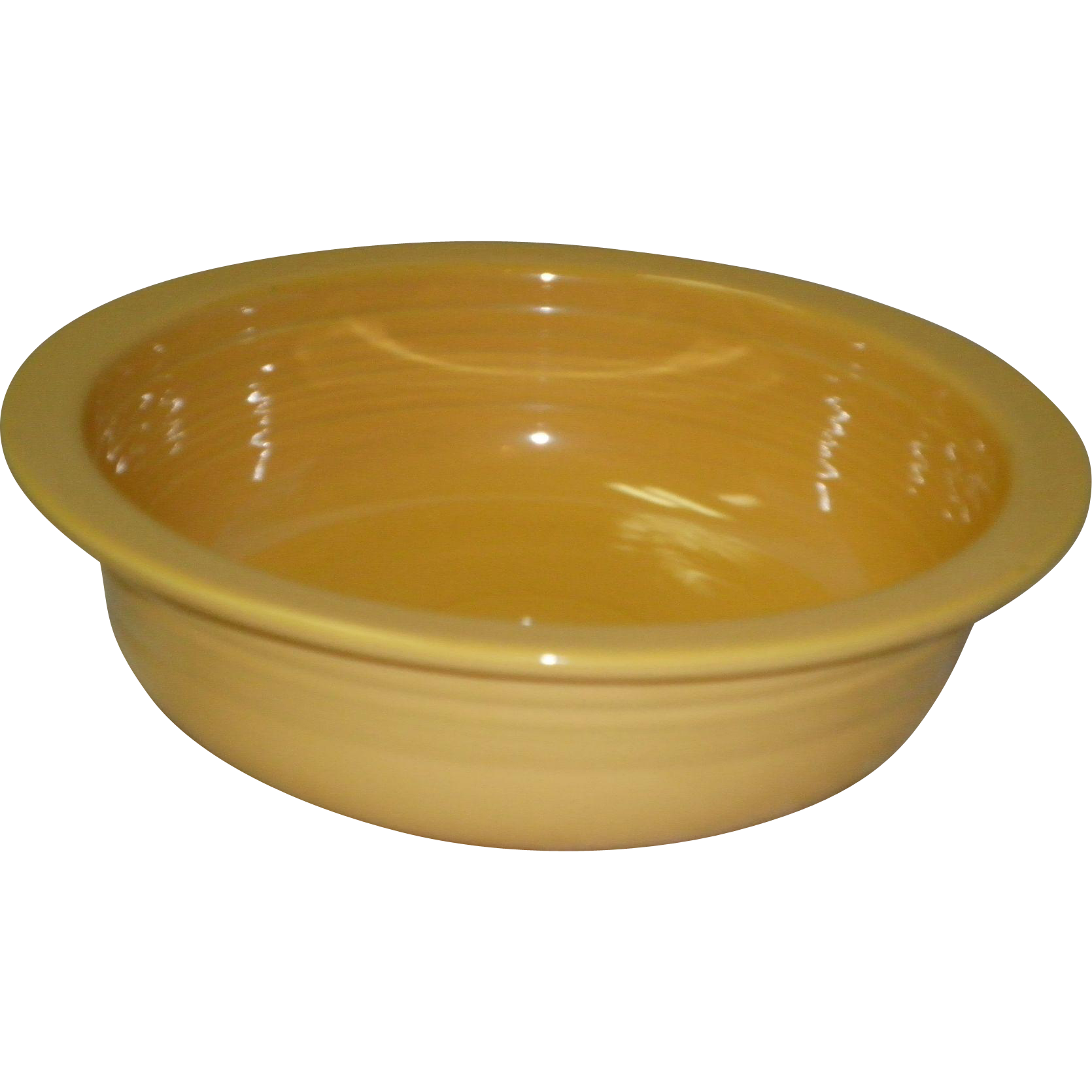 "Fiesta 8 1/2"" Yellow Bowl"